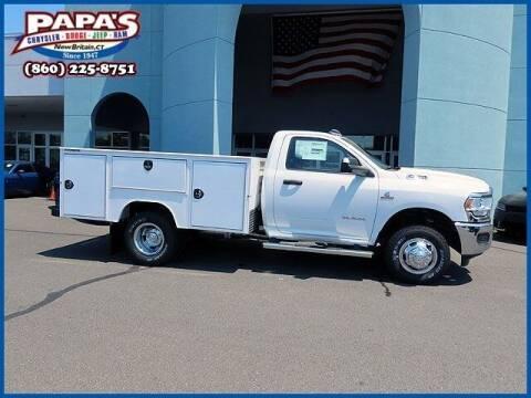 2021 RAM Ram Chassis 3500 for sale at Papas Chrysler Dodge Jeep Ram in New Britain CT