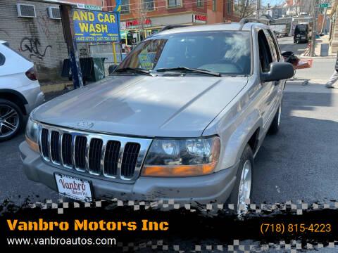 2001 Jeep Grand Cherokee for sale at Vanbro Motors Inc in Staten Island NY