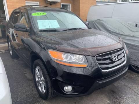 2010 Hyundai Santa Fe for sale at Park Avenue Auto Lot Inc in Linden NJ