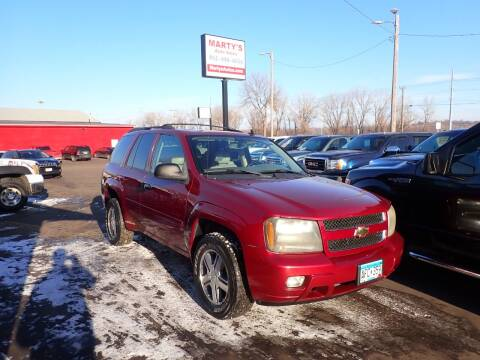 2008 Chevrolet TrailBlazer for sale at Marty's Auto Sales in Savage MN