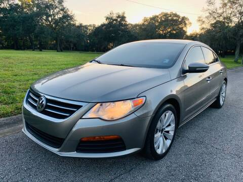 2012 Volkswagen CC for sale at FLORIDA MIDO MOTORS INC in Tampa FL