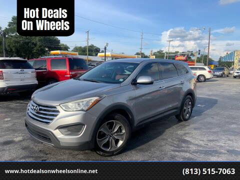 2013 Hyundai Santa Fe for sale at Hot Deals On Wheels in Tampa FL