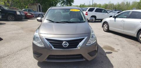 2017 Nissan Versa for sale at Anthony's Auto Sales of Texas, LLC in La Porte TX