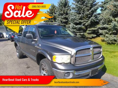 2002 Dodge Ram Pickup 1500 for sale at Heartbeat Used Cars & Trucks in Clinton Twp MI