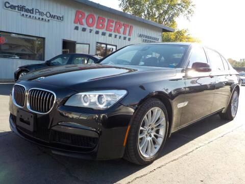 2013 BMW 7 Series for sale at Roberti Automotive in Kingston NY