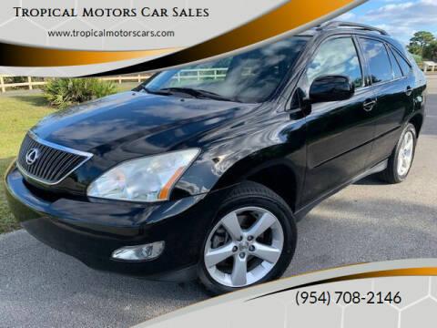 2004 Lexus RX 330 for sale at Tropical Motors Car Sales in Deerfield Beach FL