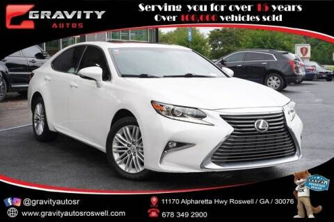 2016 Lexus ES 350 for sale at Gravity Autos Roswell in Roswell GA