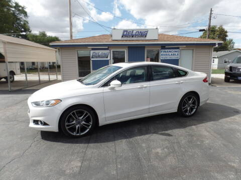 2014 Ford Fusion for sale at DeLong Auto Group in Tipton IN
