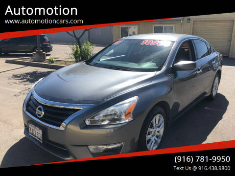 2015 Nissan Altima for sale at Automotion in Roseville CA