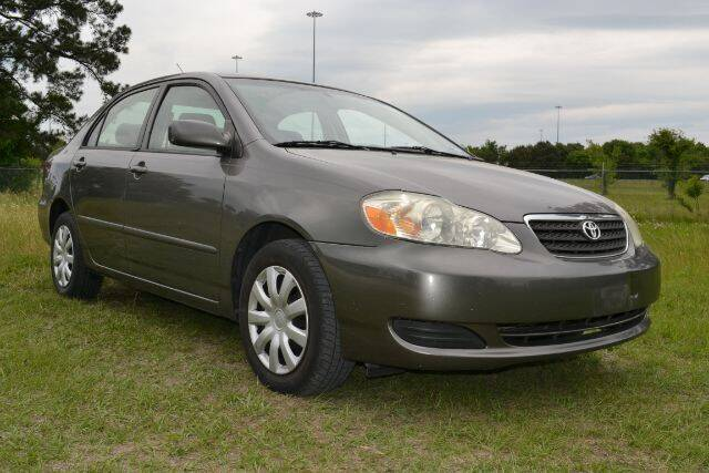 2006 Toyota Corolla for sale at WOODLAKE MOTORS in Conroe TX