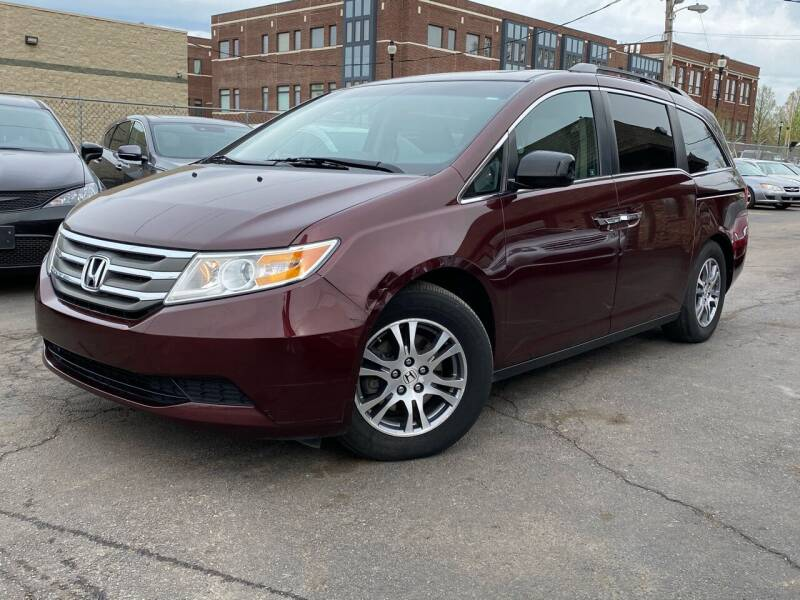 2012 Honda Odyssey for sale at Samuel's Auto Sales in Indianapolis IN