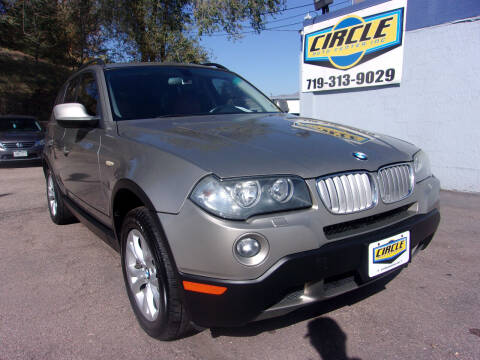 2010 BMW X3 for sale at Circle Auto Center in Colorado Springs CO