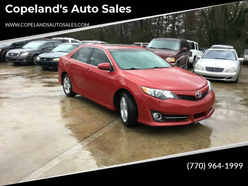 2014 Toyota Camry for sale at Copeland's Auto Sales in Union City GA