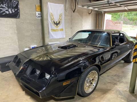 1980 Pontiac Trans Am for sale at 216 Auto Sales in Mc Calla AL