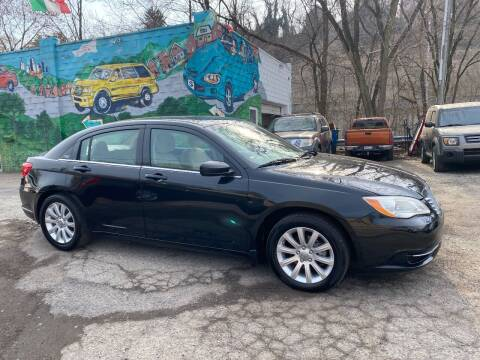 2011 Chrysler 200 for sale at Showcase Motors in Pittsburgh PA