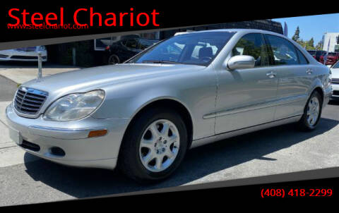 2001 Mercedes-Benz S-Class for sale at Steel Chariot in San Jose CA
