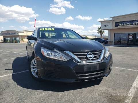 2016 Nissan Altima for sale at LUXE Autos in Las Vegas NV