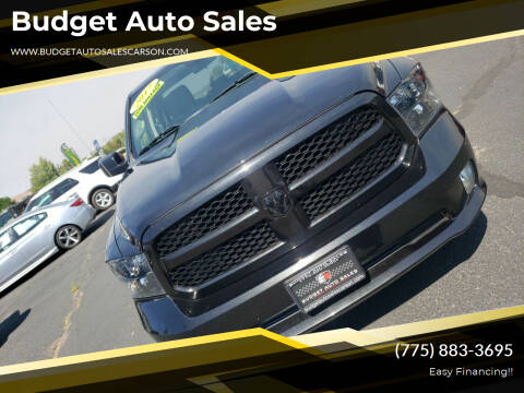 2017 RAM Ram Pickup 1500 for sale at Budget Auto Sales in Carson City NV