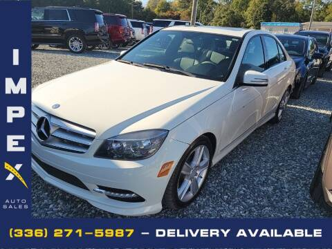 2011 Mercedes-Benz C-Class for sale at Impex Auto Sales in Greensboro NC