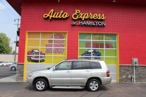 2005 Toyota Highlander for sale at AUTO EXPRESS OF HAMILTON LLC in Hamilton OH