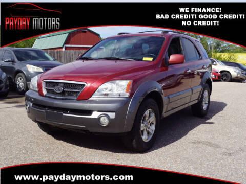 2005 Kia Sorento for sale at Payday Motors in Wichita KS