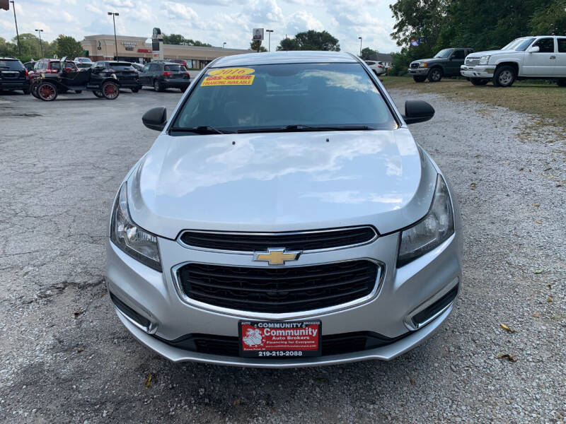 2016 Chevrolet Cruze Limited for sale in Crown Point, IN