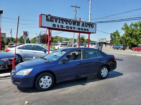 2007 Honda Accord for sale at Levittown Auto in Levittown PA