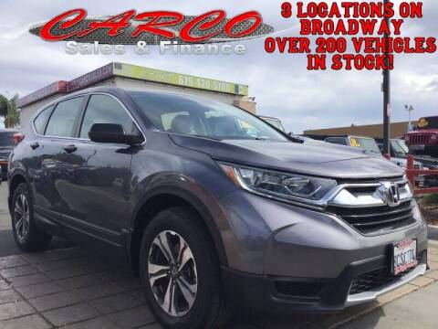 2017 Honda CR-V for sale at CARCO SALES & FINANCE in Chula Vista CA