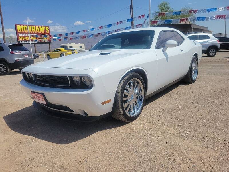 2013 Dodge Challenger for sale at Bickham Used Cars in Alamogordo NM