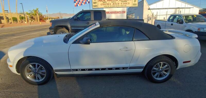 2005 Ford Mustang for sale at ACE AUTO SALES in Lake Havasu City AZ