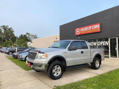 2004 Ford F-150 for sale at HOUSE OF CARS CT in Meriden CT