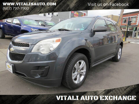 2011 Chevrolet Equinox for sale at VITALI AUTO EXCHANGE in Johnson City NY