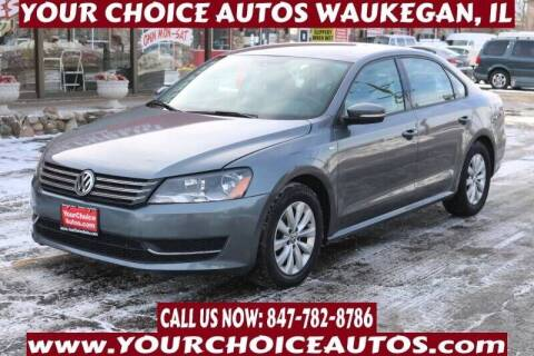 2015 Volkswagen Passat for sale at Your Choice Autos - Waukegan in Waukegan IL