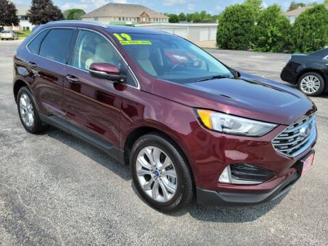 2019 Ford Edge for sale at Cooley Auto Sales in North Liberty IA
