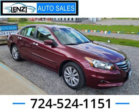 2012 Honda Accord for sale at LENZI AUTO SALES in Sarver PA