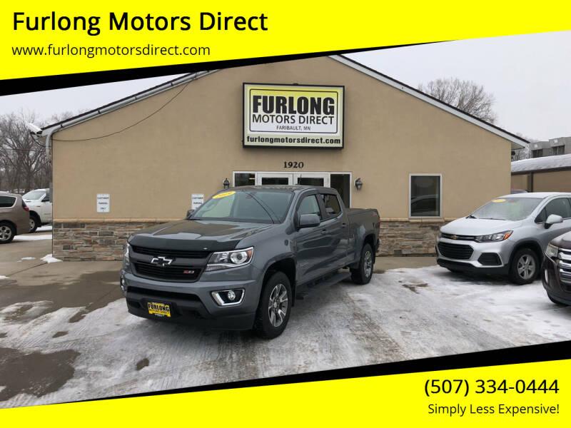2019 Chevrolet Colorado for sale at Furlong Motors Direct in Faribault MN