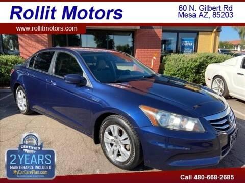 2011 Honda Accord for sale at Rollit Motors in Mesa AZ