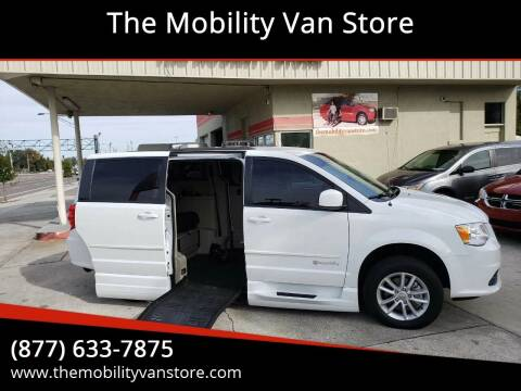 2014 Dodge Grand Caravan for sale at The Mobility Van Store in Lakeland FL