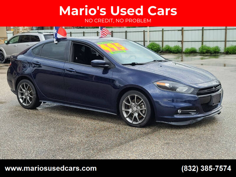 2014 Dodge Dart for sale at Mario's Used Cars - Pasadena Location in Pasadena TX