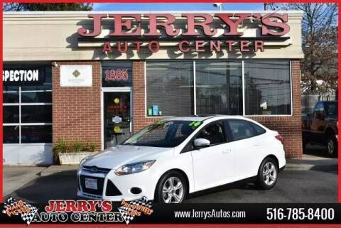 2014 Ford Focus for sale at JERRY'S AUTO CENTER in Bellmore NY