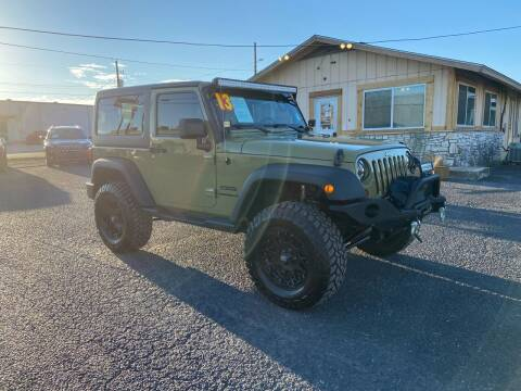 2013 Jeep Wrangler for sale at The Trading Post in San Marcos TX
