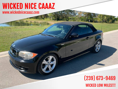 2011 BMW 1 Series for sale at WICKED NICE CAAAZ in Cape Coral FL