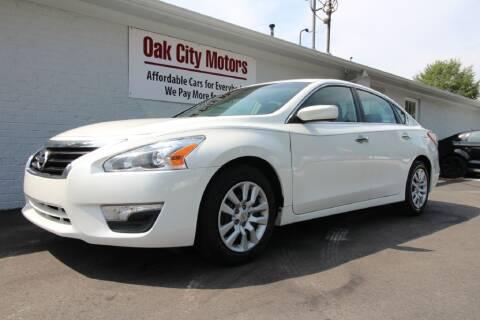2013 Nissan Altima for sale at Oak City Motors in Garner NC