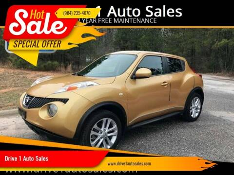 2013 Nissan JUKE for sale at Drive 1 Auto Sales in Wake Forest NC