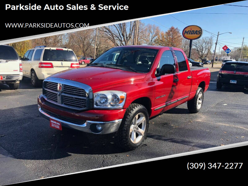 2007 Dodge Ram Pickup 1500 for sale at Parkside Auto Sales & Service in Pekin IL