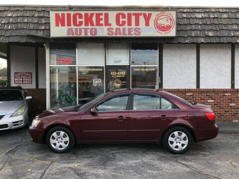 2010 Hyundai Sonata for sale at NICKEL CITY AUTO SALES in Lockport NY