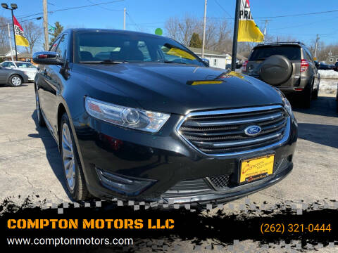 2013 Ford Taurus for sale at COMPTON MOTORS LLC in Sturtevant WI