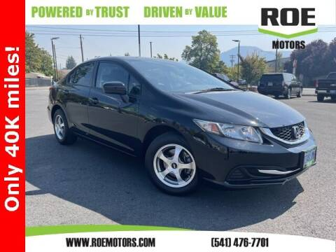 2015 Honda Civic for sale at Roe Motors in Grants Pass OR