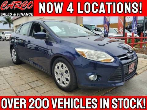 2012 Ford Focus for sale at CARCO SALES & FINANCE #3 in Chula Vista CA