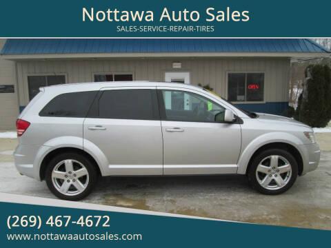 2009 Dodge Journey for sale at Nottawa Auto Sales in Nottawa MI